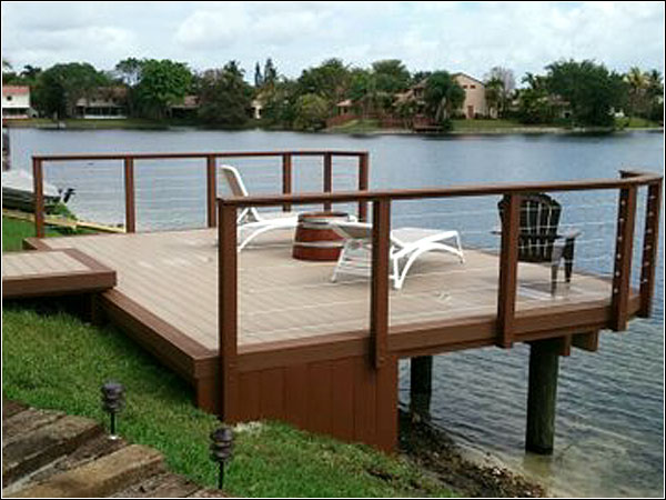 Custom deck by Morrison Contractors
