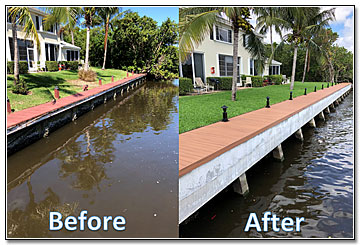 Lake Worth Florida Seawall Construction and Repair