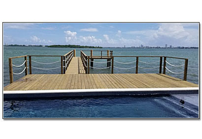 Dania Florida Boat Dock Construction Contractor