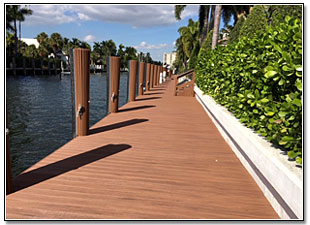 Commercial Boat Dock Construction