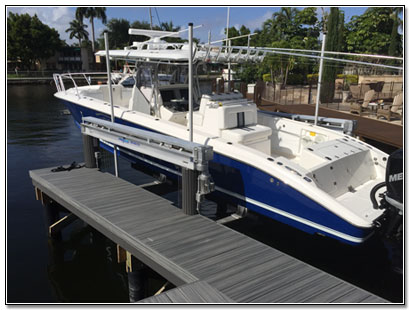 Boca Raton Florida Boat Lift Sales Service & Repair