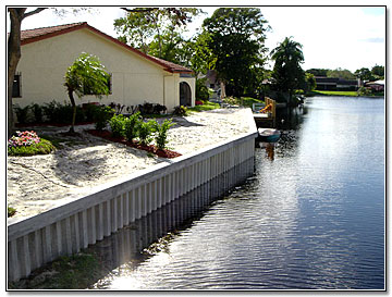 Florida Residential Seawall