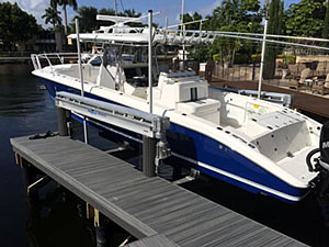Florida Boat Lifts Construction Contractor Sales and Service